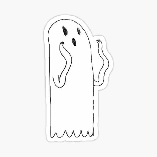 Fantôme Sticker