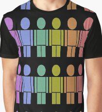 gay rainbow Graphic T-Shirt