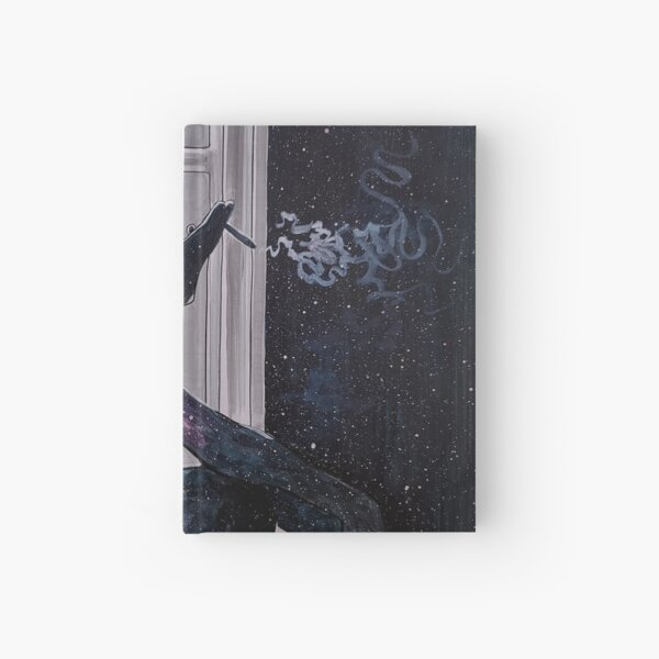 Waiting for inspiration Hardcover Journal