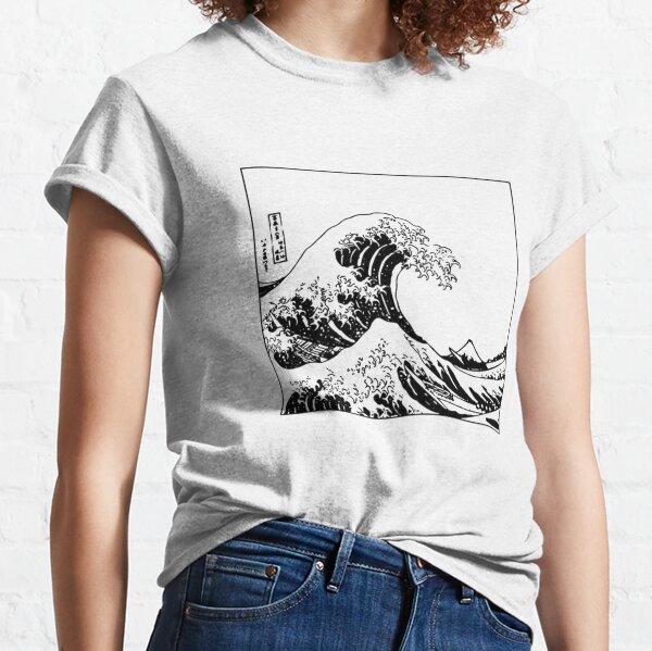 The Great Wave Off Kanagawa Classic T-Shirt