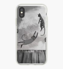 Cats in Love iPhone Case