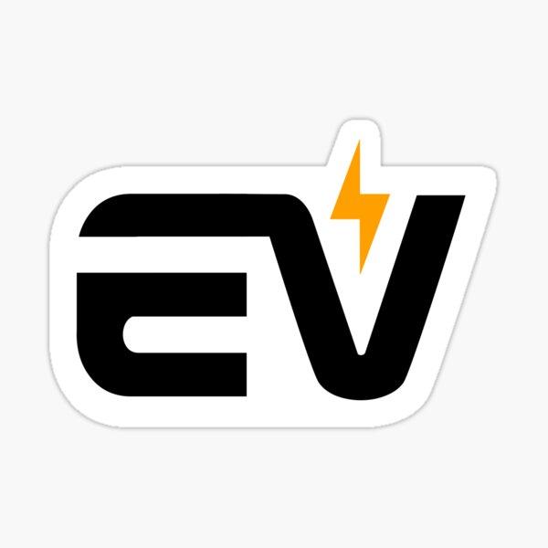 Autocollant EV - Style NASA Sticker