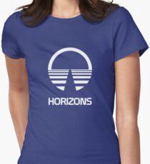 Horizons Tailliertes T-Shirt für Frauen