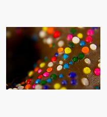 Macro donut Photographic Print
