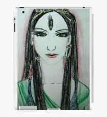 Green Yoga Devi iPad Case/Skin