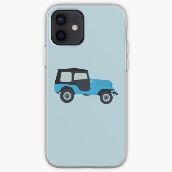 Stiles Stilinski Jeep CJ5 1976, Roscoe / Teen Wolf iPhone Soft Case