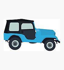 Stiles Stilinski Jeep CJ5 1976, Roscoe / Teen Wolf Photographic Print