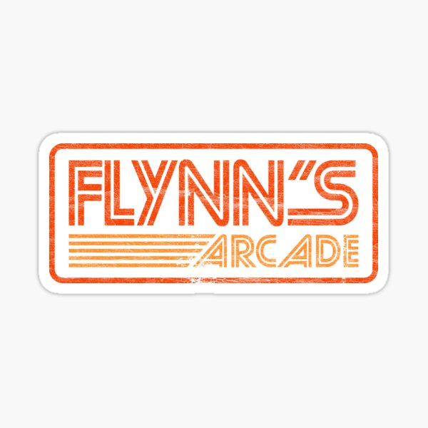 Flynn's Arcade ✅ 80s Retro Sticker