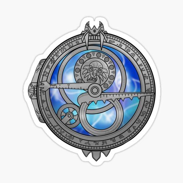 Amuleto de la luz del día Pegatina