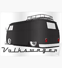 Aircool Bus - Dark Poster Poster
