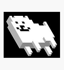 Cute Pixel Dog Photographic Print