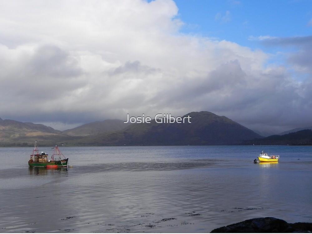 Loch Creran by Josie Gilbert