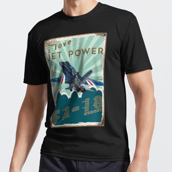 FA18A_Hornet_01AG Active T-Shirt