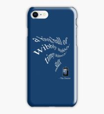 wibbly wobbly timey wimey...stuff (iPhone & iPad Only) iPhone Case/Skin