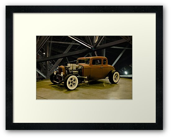 1932 Ford 5 Window Coupe 'Rusty But No Rat' by DaveKoontz