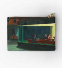 Vintage Edward Hopper Nighthawks Diner Studio Pouch