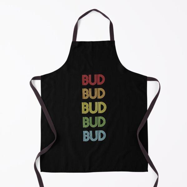 Bud Name - Multi Colored Custom Name Gift For Bud Apron