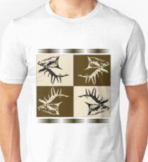 Bull elk collage  T-Shirt