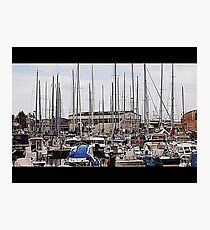 Marina Photographic Print