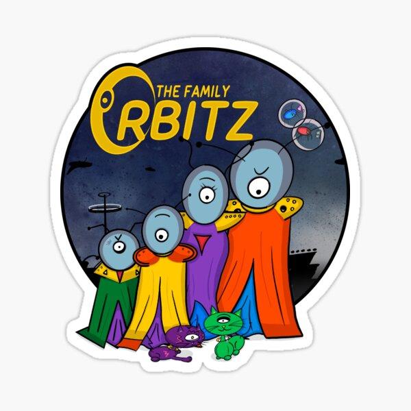 The Family Orbitz - Family Sticker