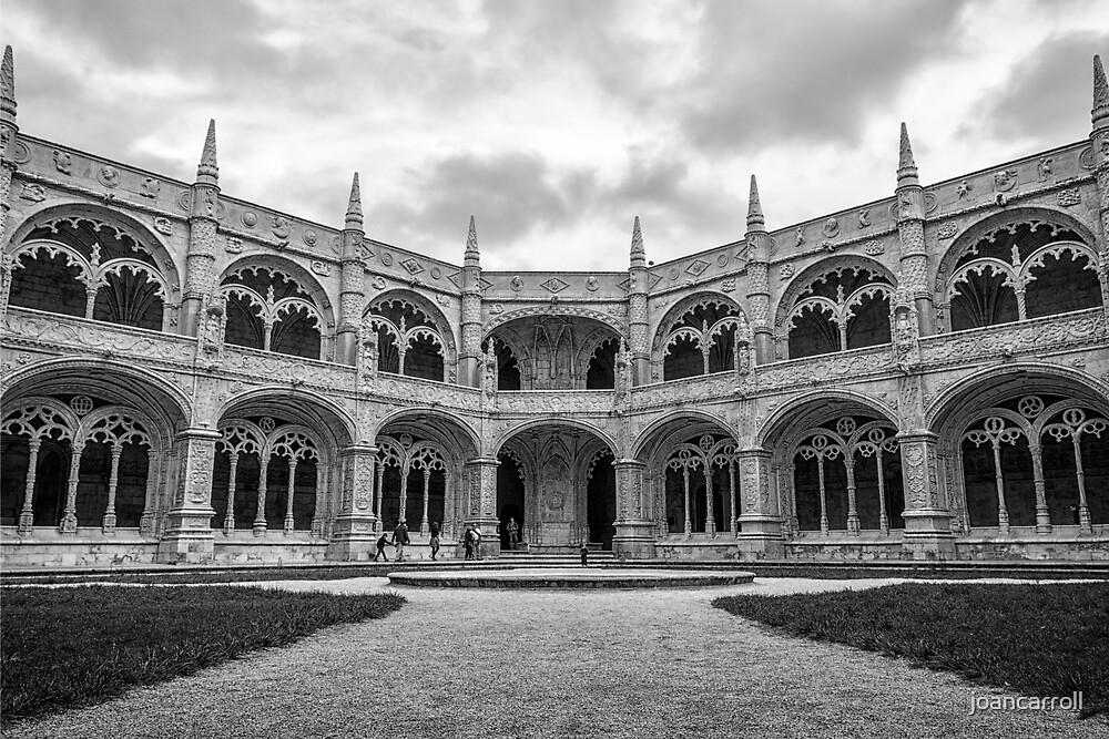 Jeronimos Monastery Cloister Lisbon by joancarroll