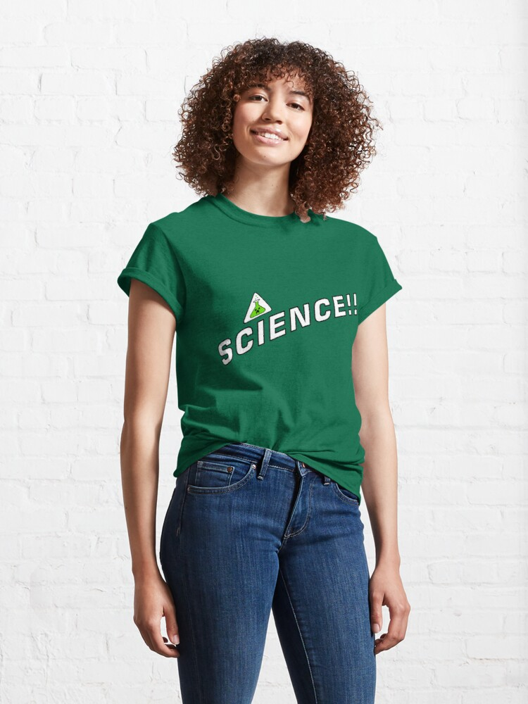 Alternate view of Creeper's Lab - Science Classic T-Shirt