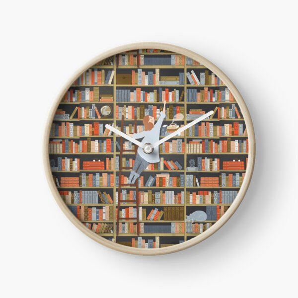The Girl in the Library  Clock