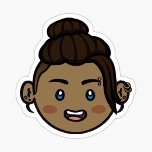 Little Lionett Sticker