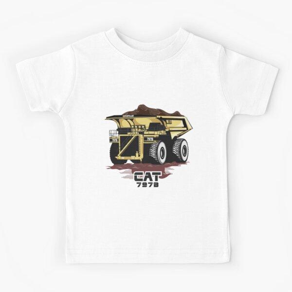 Camión minero Caterpillar 797B Camiseta para niños