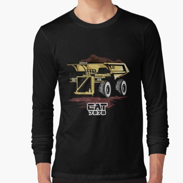 Mining Truck Caterpillar 797B Long Sleeve T-Shirt