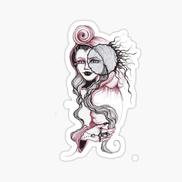 Vampire Goddess Sticker