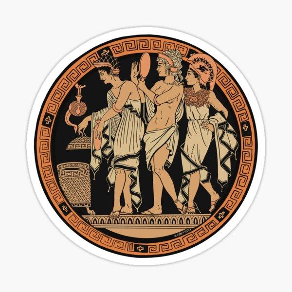 The Judgement of Paris Sticker