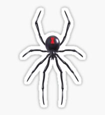 Black Widow Spider Sticker