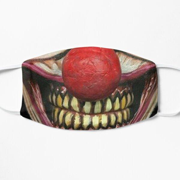 Masque Clown Halloween Masque sans plis