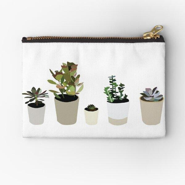 Succulents Zipper Pouch
