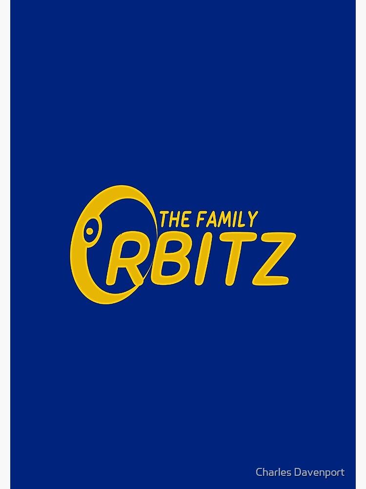 The Family Orbitz - Logo by cdavenport4
