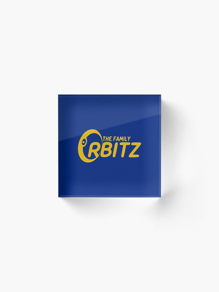 Alternate view of The Family Orbitz - Logo Acrylic Block