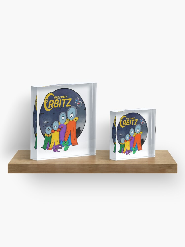 Alternate view of The Family Orbitz - Family Acrylic Block