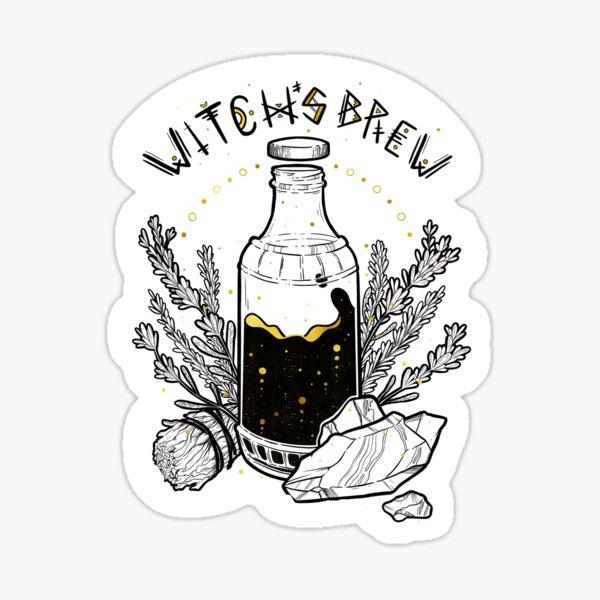 Witch's Brew - Gold Elixir  Sticker