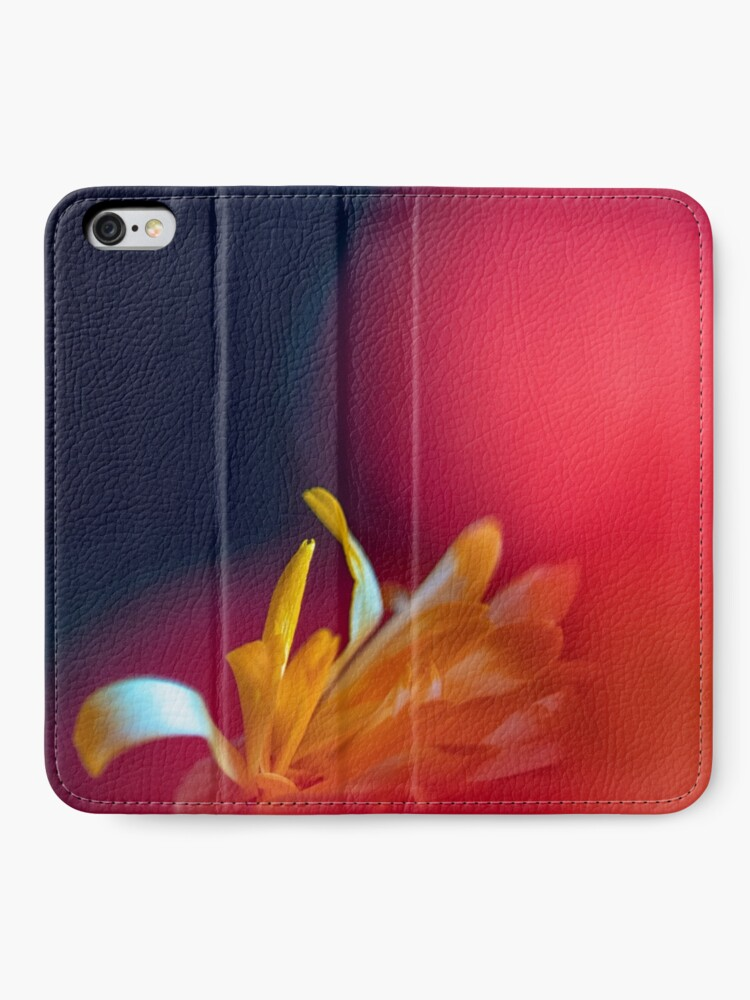 Alternate view of Flower Mystical iPhone Wallet