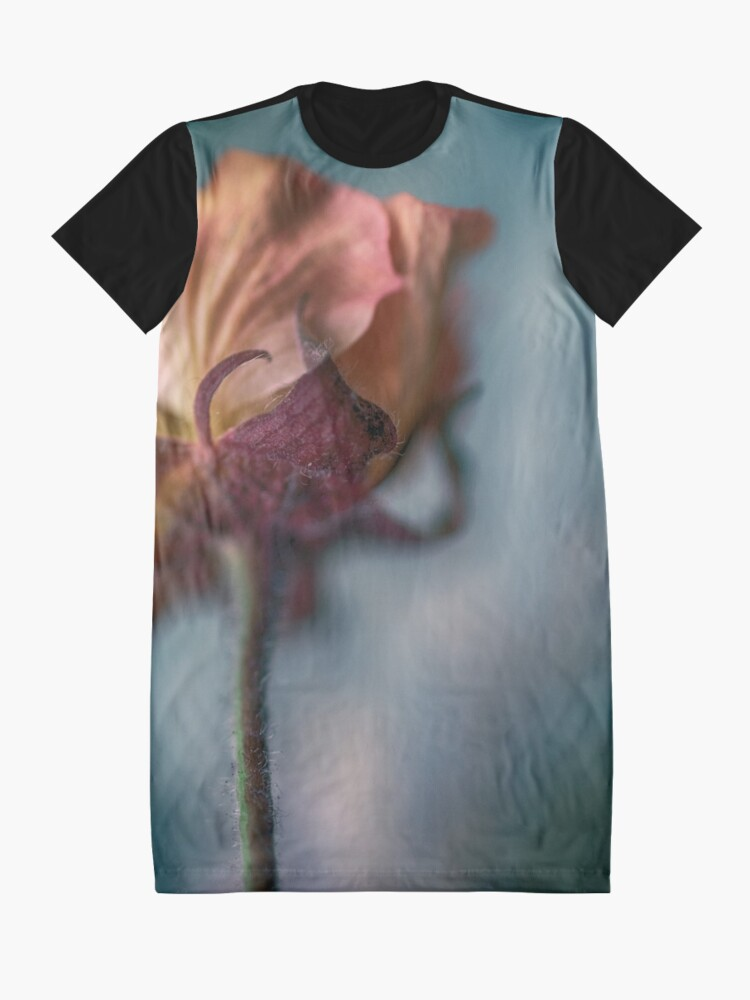 Alternate view of Flower Mystical Graphic T-Shirt Dress