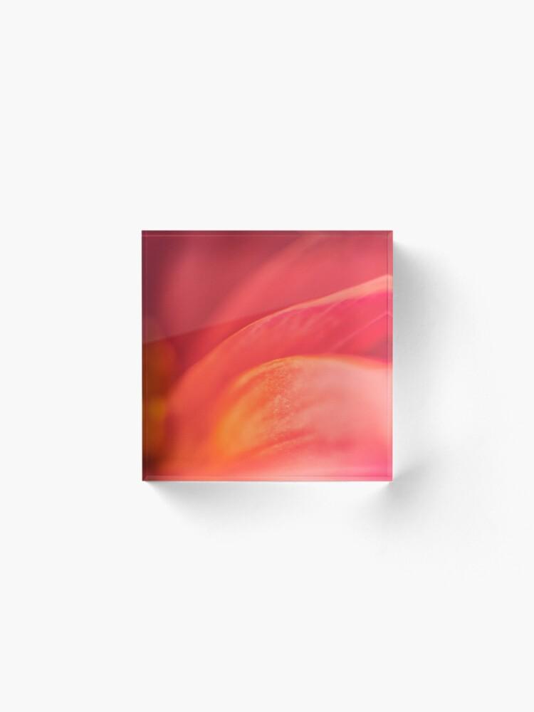 Alternate view of Flower Mystical  Acrylic Block