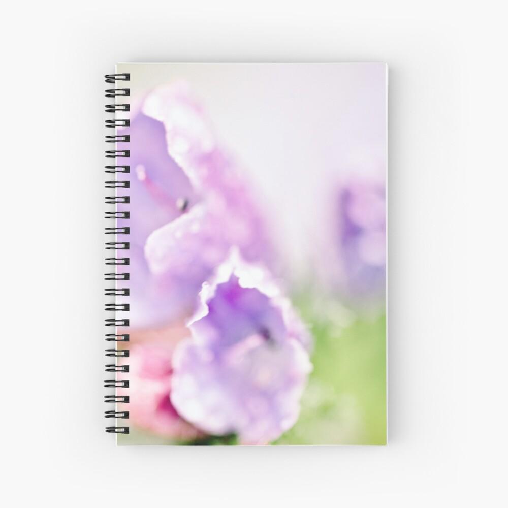 Flower Mystical Spiral Notebook