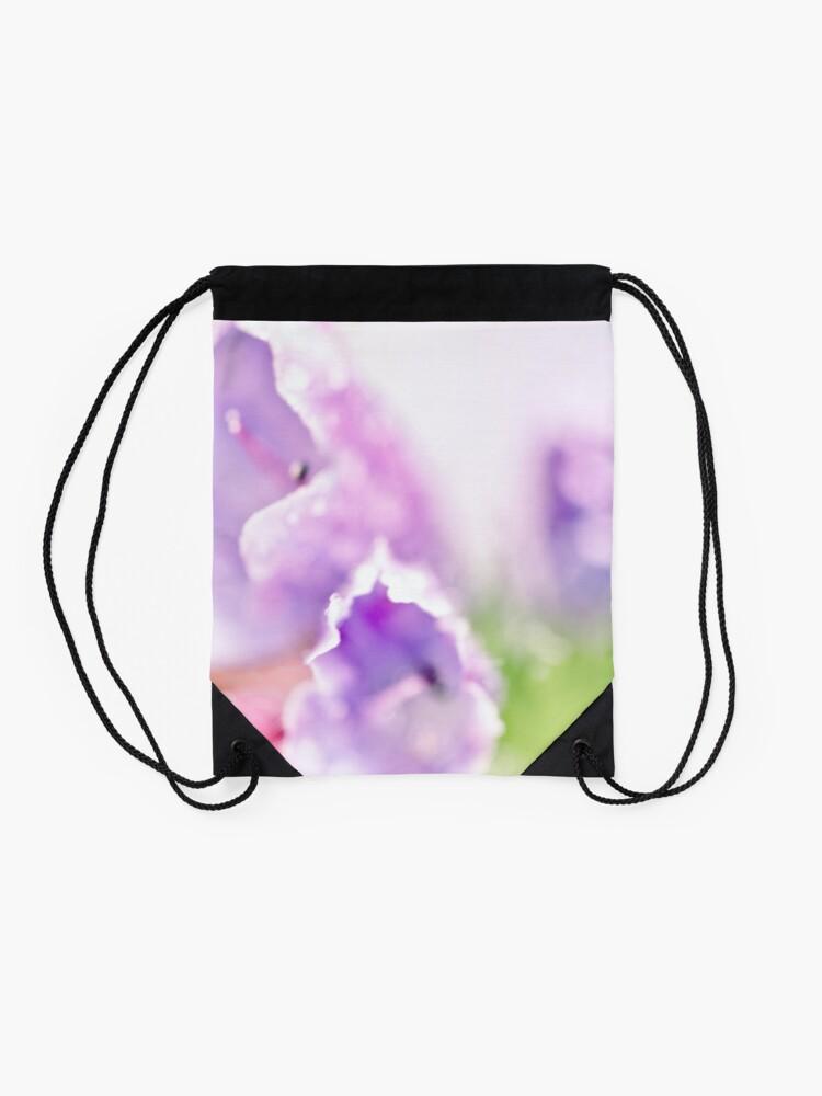 Alternate view of Flower Mystical Drawstring Bag