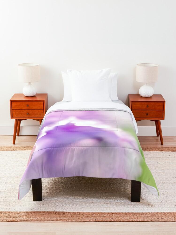 Alternate view of Flower Mystical Comforter