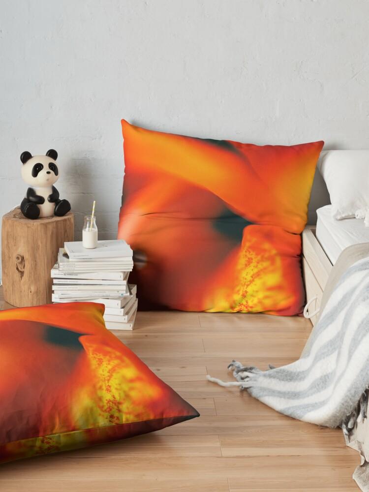 Alternate view of Flower Mystical  Floor Pillow
