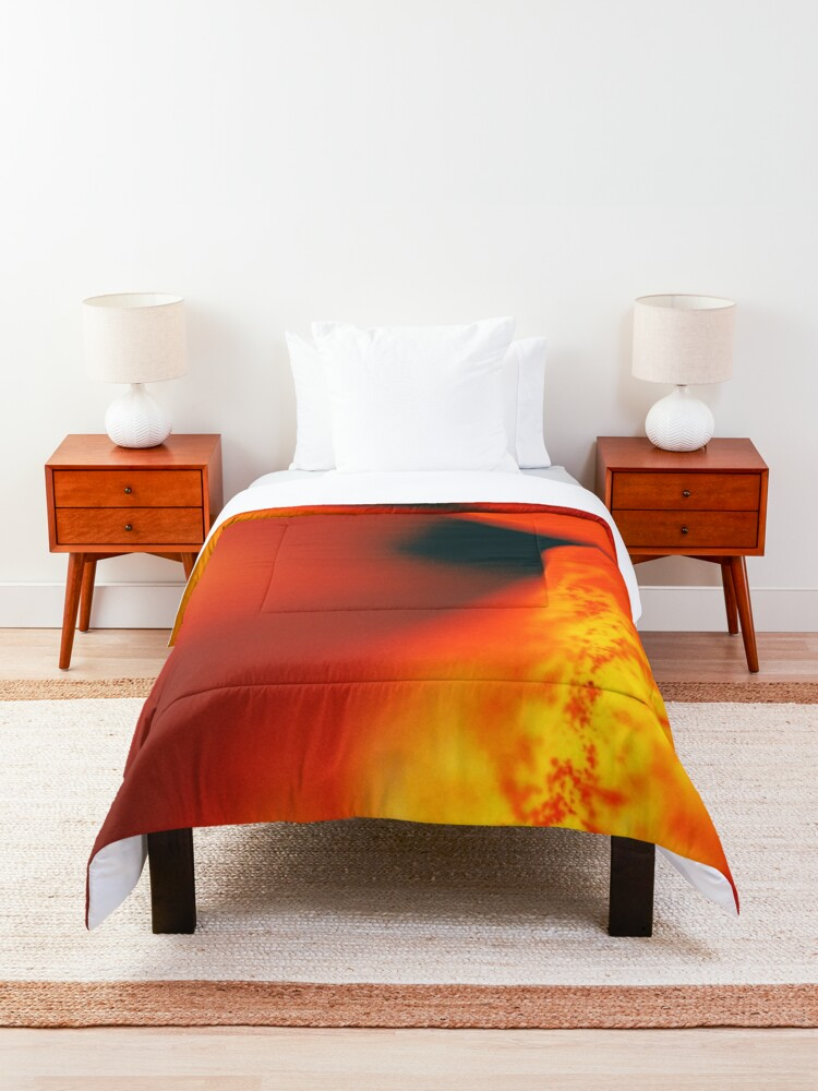 Alternate view of Flower Mystical  Comforter