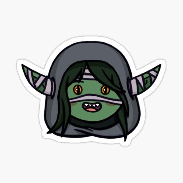 Nott, a Goblin Sticker
