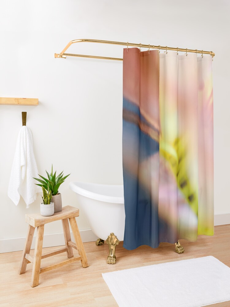 Alternate view of Flower Mystical Shower Curtain