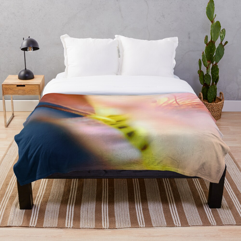 Flower Mystical Throw Blanket